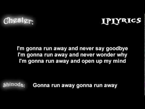 Linkin Park- Runaway [ Lyrics on screen ] HD