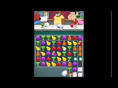 Family Guy Another Freakin Mobile Game Level 161 - NO BOOSTERS