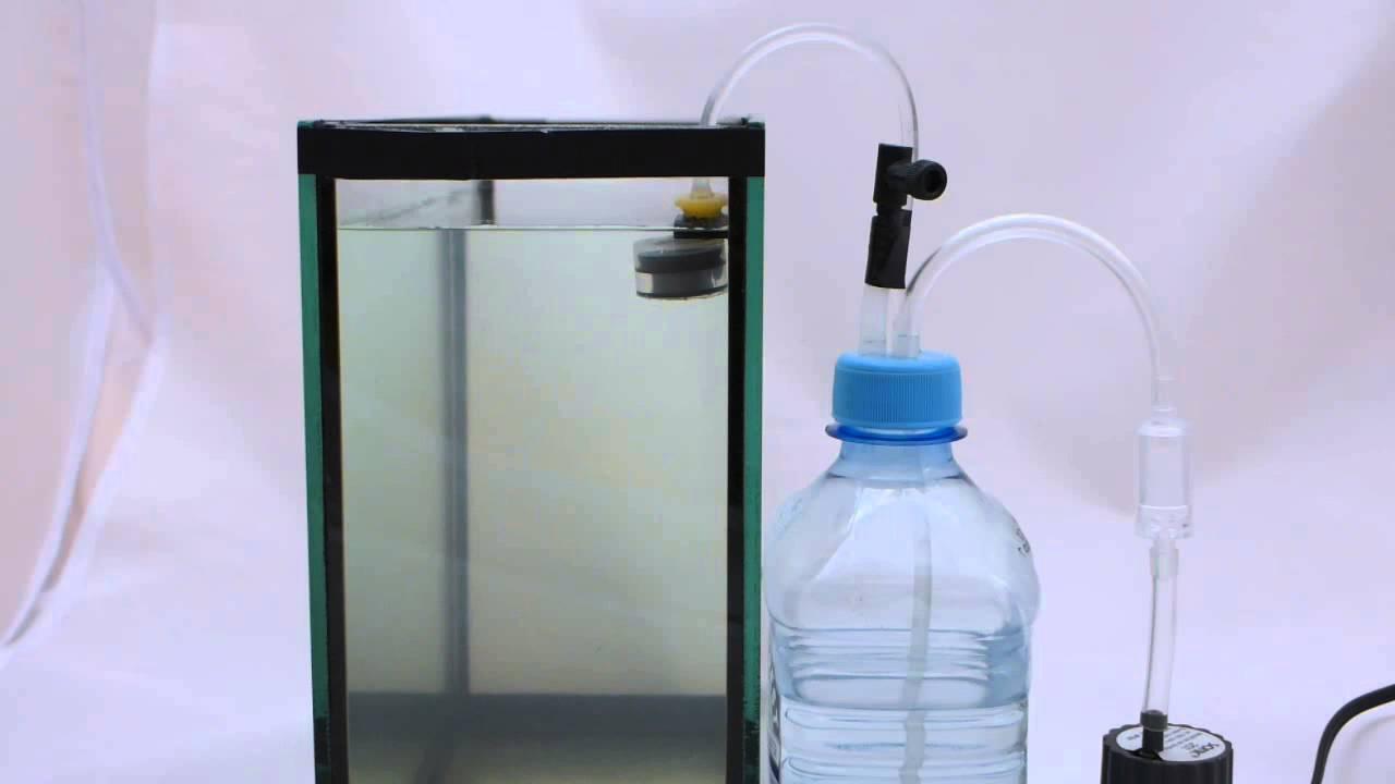 DIY aquarium auto top up system