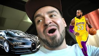 Meeting Lebron James' secret car!! *WHAT!?*
