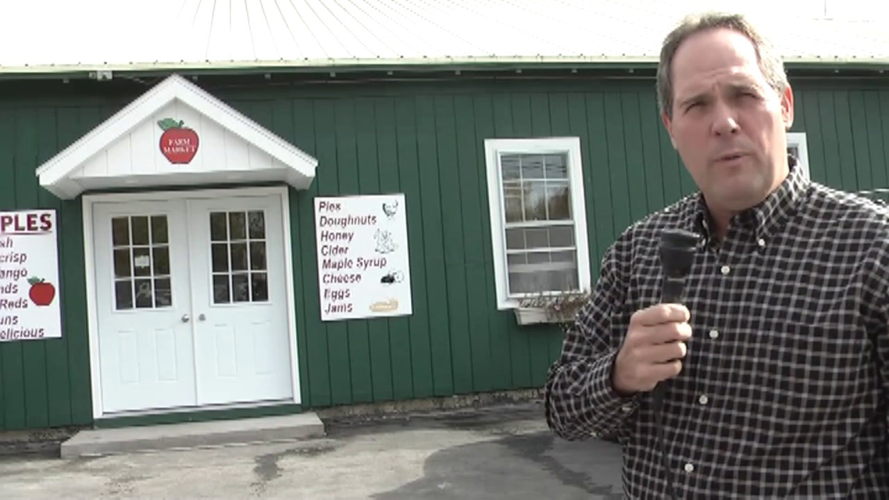 Talking Business - Chazy Orchards Farm Market  10-12-11