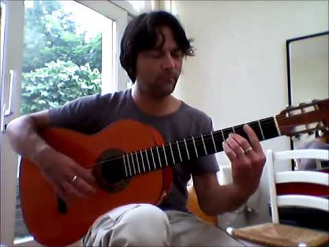 FLAMENCO guitar 'Cumpleaños feliz / Happy birthday' Maurice Leenaars-guitar