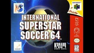 International Superstar Soccer 64 (Nintendo 64)