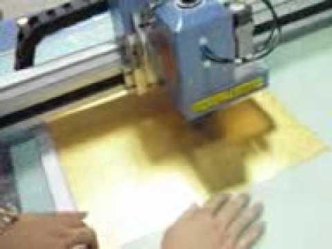 aokecut@163.com frame paper matboard bevel cutter plotter machine.3gp
