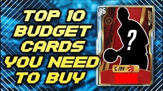 TOP 10 Budget Cards You NEED TO BUY In NBA 2K20 MyTEAM!!