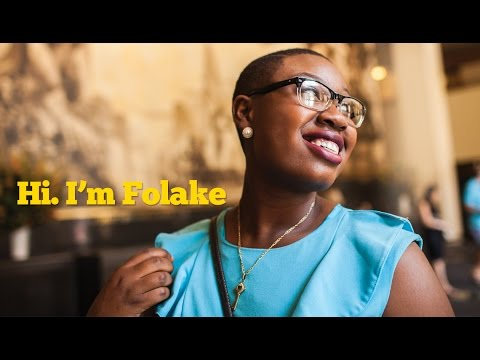 Hi. I'm Folake