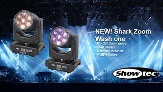 Showtec Shark Zoom Wash One. Productcode: 45021.