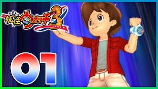 Yo-Kai Watch 3 Sushi / Tempura - Episode 1 | Moving In! (YoKai Watch 3 Gameplay)