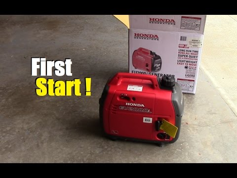 How To Break In Your New Portable Generator So It Las