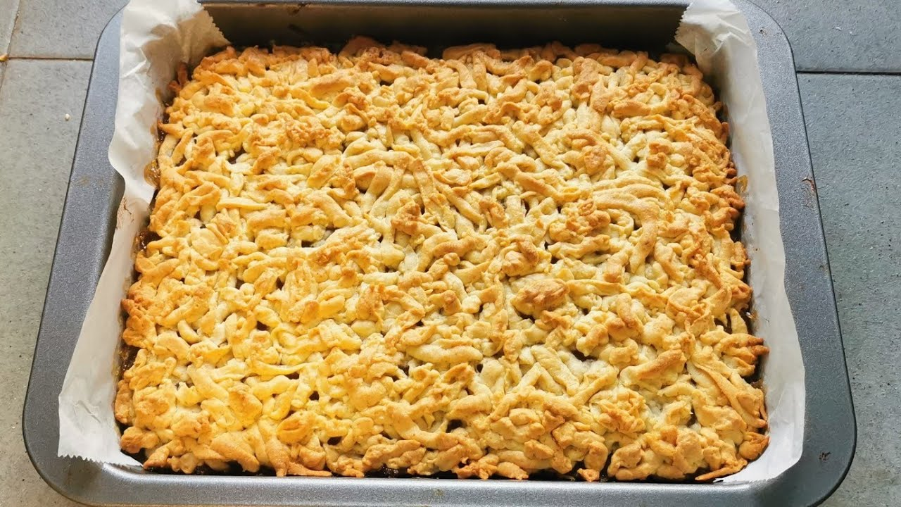 Increíble pastel con manzanas prepararla te va a sorprender, desayuno perfecto  