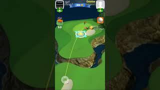 Golf Clash لسوء حظي تحدي مع محترف خطير في لعبة