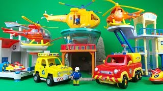 Top 3 Feuerwehrmann Sam / Fireman Sam Wallaby 1 helicopter and wallaby 2 helicopter