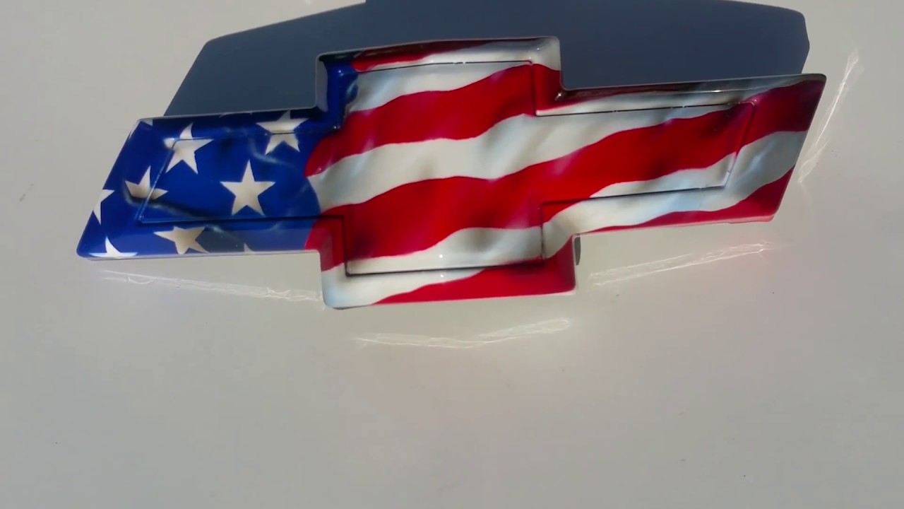 american flag camaro bowtie - YouTube