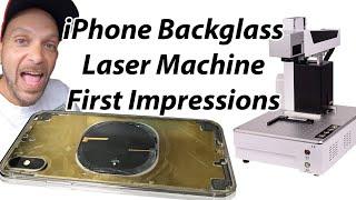 Rewa iphone laser machine easiest iphone 8, x, xs, xr, 11 back glass repair