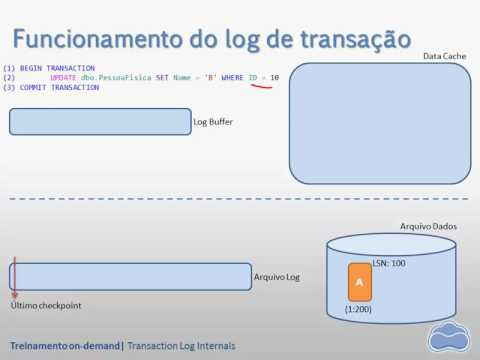 Video 08 - Transaction Log Internals