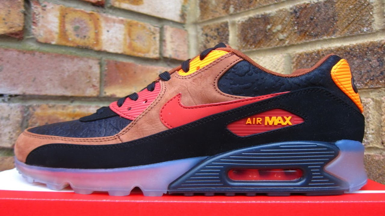 Nike Air Max 90 Halloween Black Orange