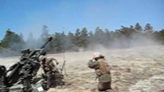 Fort Bragg Artillery Shoot