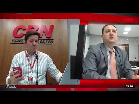 Entrevista CBN Campo Grande: deputado estadual Márcio Fernandes