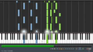 Modest Moussorgsky - Pictures at an Exhibition - Piano Tutorial (100%) Synthesia