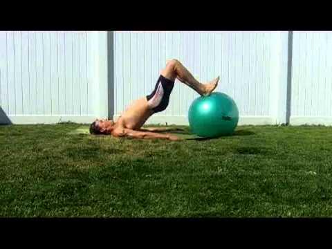 Stability Ball Bridge