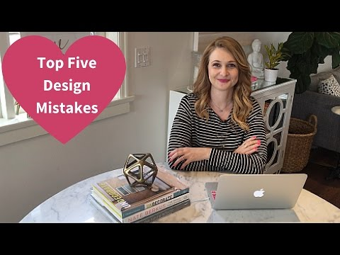 Top Five Design Mistakes - 2016