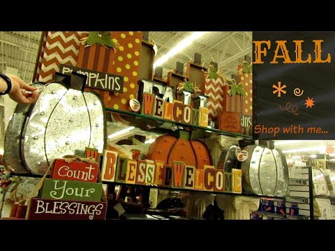 Shop with me ~ Fall Decor 2017