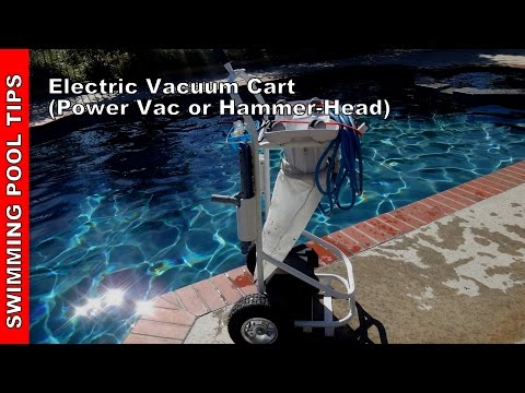 Electric Vacuum Cart (12 Volt Cart) For your Power Vac or ... on