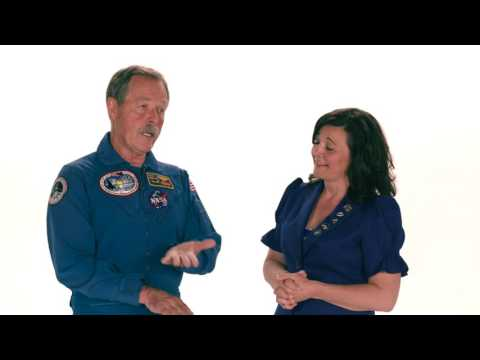 Janet's Planet: Celebrating Yuri's Night with Astronaut Hoot Gibson