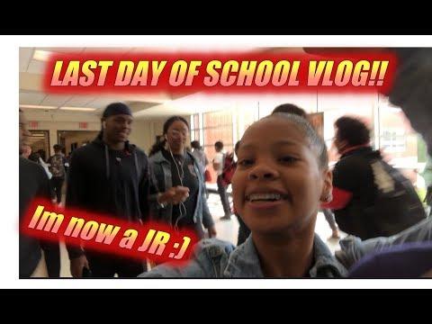 Last Day of school vlog