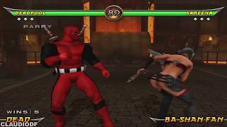 Mortal Kombat Armageddon DEADPOOL - (PS2)【TAS】