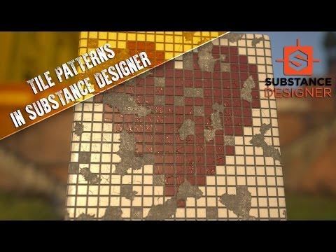 Creating Masked Tile Patterns in Substance Designer - YouTube