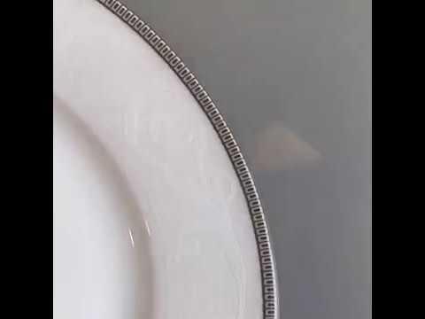 Набор тарелок «снежная королева»