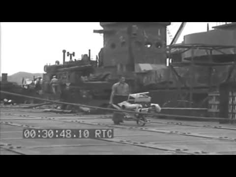 Conversion Of LCIs To Gunboats, Noumea, New Caledonia 1943 (full)