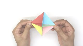 Spinner | Modular origami | Paper craft | DIY