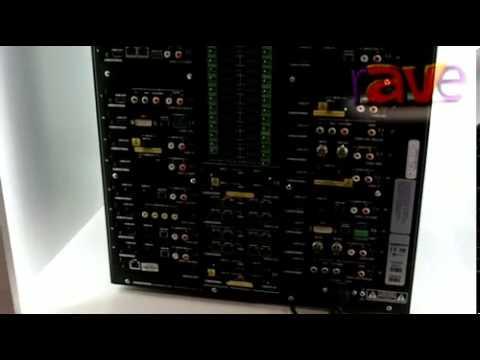 ISE 2013: Crestron UK Showcases UK 32x32 HDMI Matrix Switcher