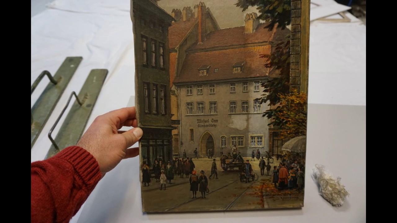 Restaurierung Köln picture cleaning cologne w corser eisenhandlung michael cron köln