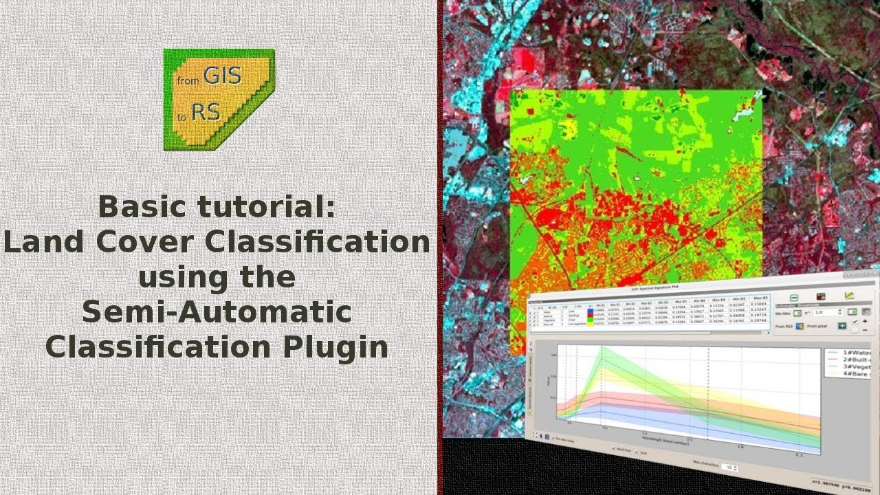 Basic tutorial 1: Land Cover Classification of Landsat Images
