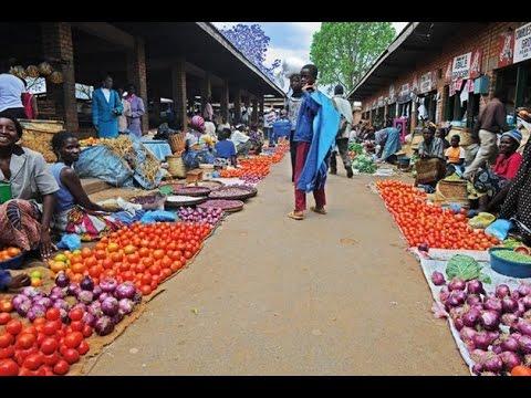 Free market Africa - Guinea