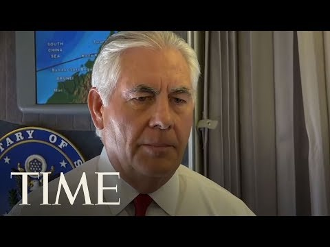 Rex Tillerson: 'Americans Should Sleep Well At Night' Despite North Korea Threat | TIME