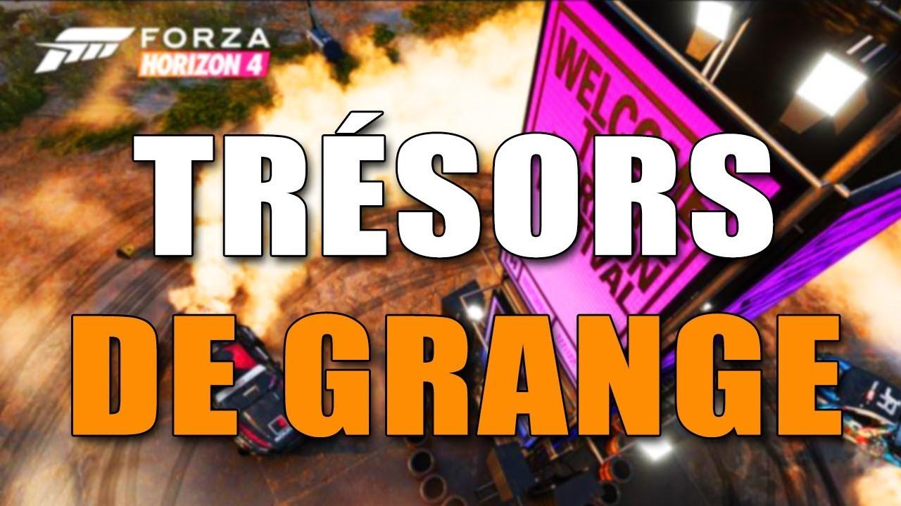 Forza Horizon 4 Emplacement De Tout Les Tresors De Grange Youtube