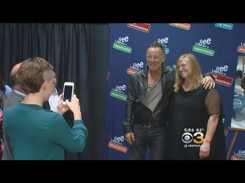Life-Long Bruce Springsteen Fans Meet Their Idol At Philly Book Signing