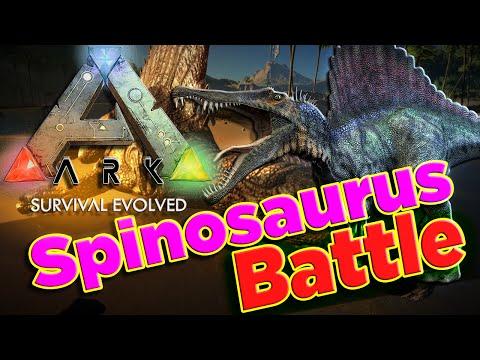 Ark Survival evolved spinosaurus saddle Level