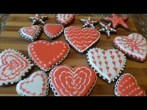 печенья имбирные с глазурью рецепт с фото