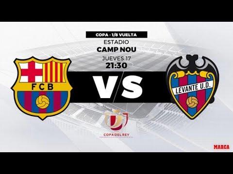 Barcelona Vs Levante Live Stream 17/01/2019
