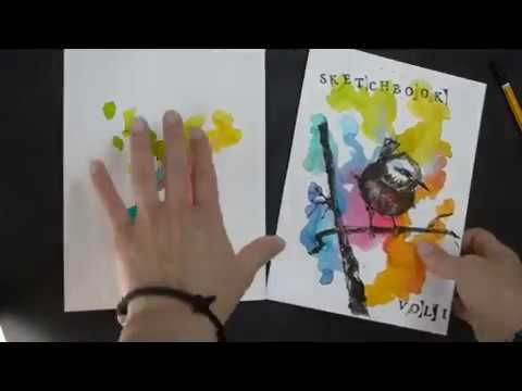 DIY #2   How to make your own sketchbook from scratch - Part 1/3
