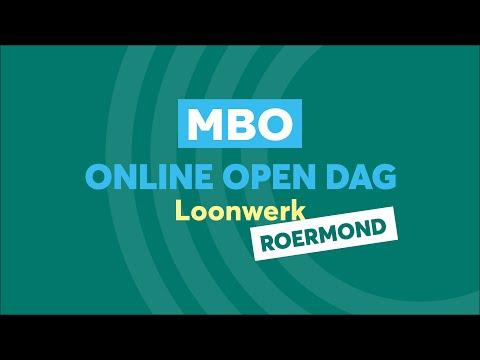 Roermond MBO Loonwerk Online Open Dag