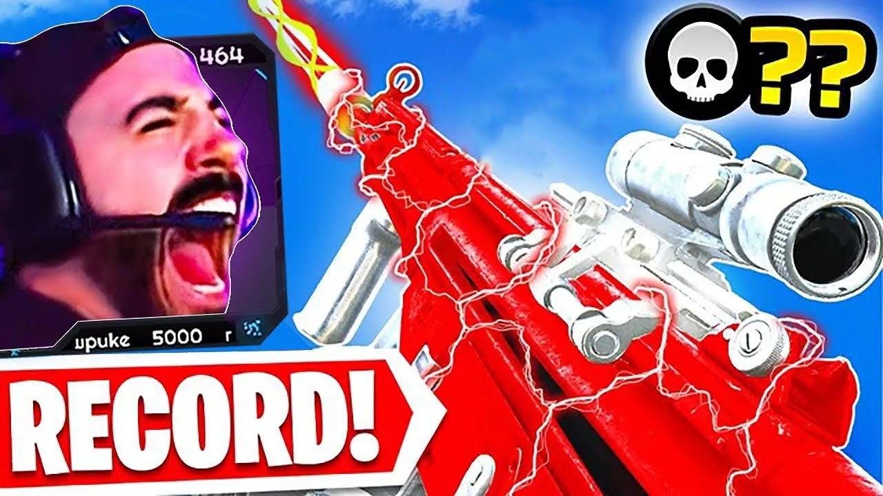 The SOLOS KILL RECORD on Warzone! 😱