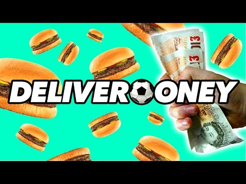 DELIVERY DRIVER FOOTBALL CHALLENGES | Deliverooney