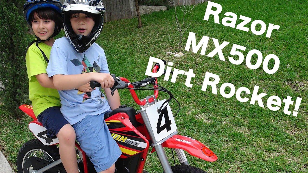 Robert Andre S Razor Mx500 Dirt Rocket Youtube