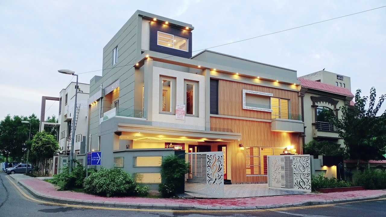 12 Marla (40×65) Beautiful House 🏘 With 5 Bedroom For Sale in Bahria Town Lahore